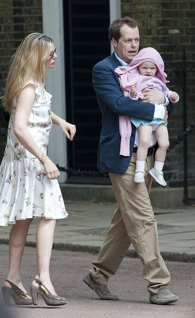 Image Credit: Getty Images/UK Press via Getty Images/Antony Jones | Tom and Sara with daughter Lola in 2009