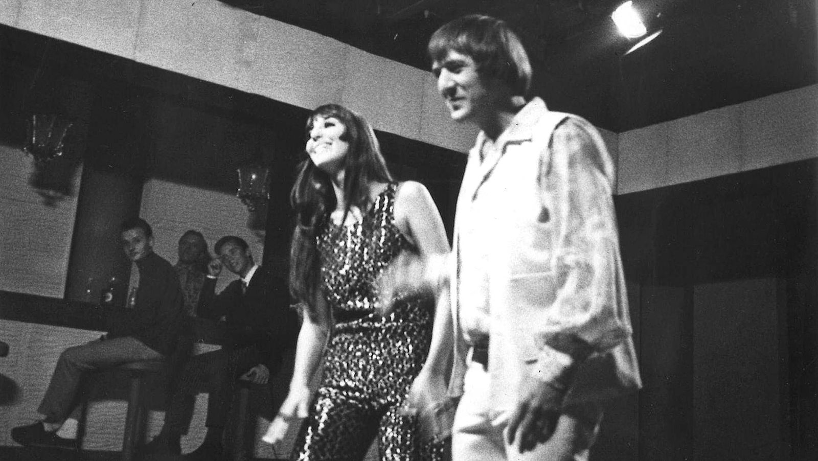 Image Source: Wikimedia Commons/Public Domain/Photograph of Sonny and Cher during their visit to Helsinki.