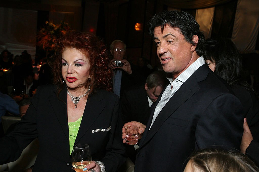 Image Credits: Getty Images / E. Charbonneau / WireImage | Jackie Stallone and Sylvester Stallone.