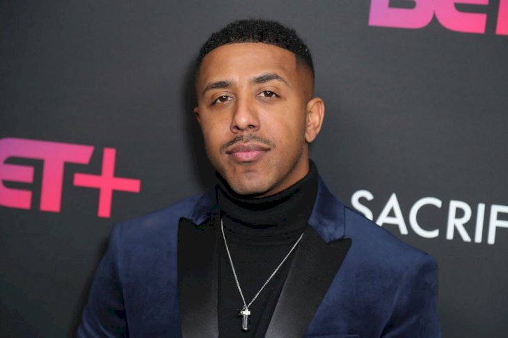 Image Credit: Getty Images / Marques Houston on the red carpet.