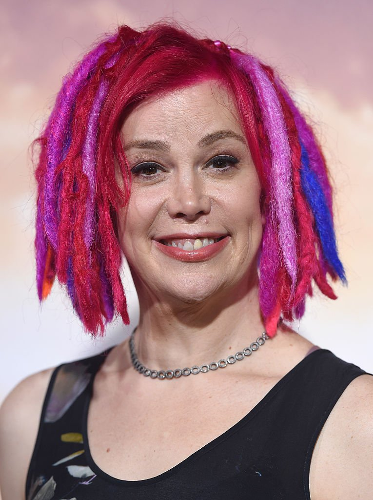Image Credits: Getty Images / Axelle / Bauer-Griffin / FilmMagic | Director Lana Wachowski arrives at the Los Angeles premiere of 'Jupiter Ascending' at TCL Chinese Theatre on February 2, 2015 in Hollywood, California.