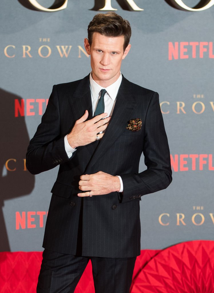 "Image Credits: Getty Images / Samir Hussein / WireImage | Matt Smith attends the World Premiere of season 2 of Netflix ""The Crown"" at Odeon Leicester Square on November 21, 2017 in London, England."