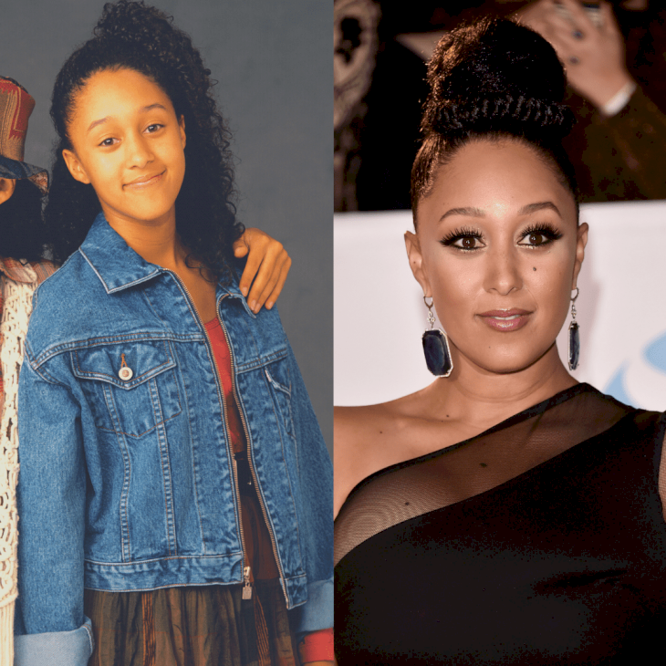Image Credit: Getty Images / Before and After: Tamera Mowry.