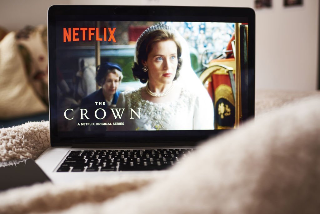 Image Credits: Getty Images / Gabby Jones / Bloomberg | An Apple Inc. laptop computer displays the home screen for the Netflix Inc. original series 'The Crown' in an arranged photograph taken in the Brooklyn Borough of New York, U.S., on Thursday, April 12, 2018. Netflix Inc. is scheduled to release earnings on April 16.