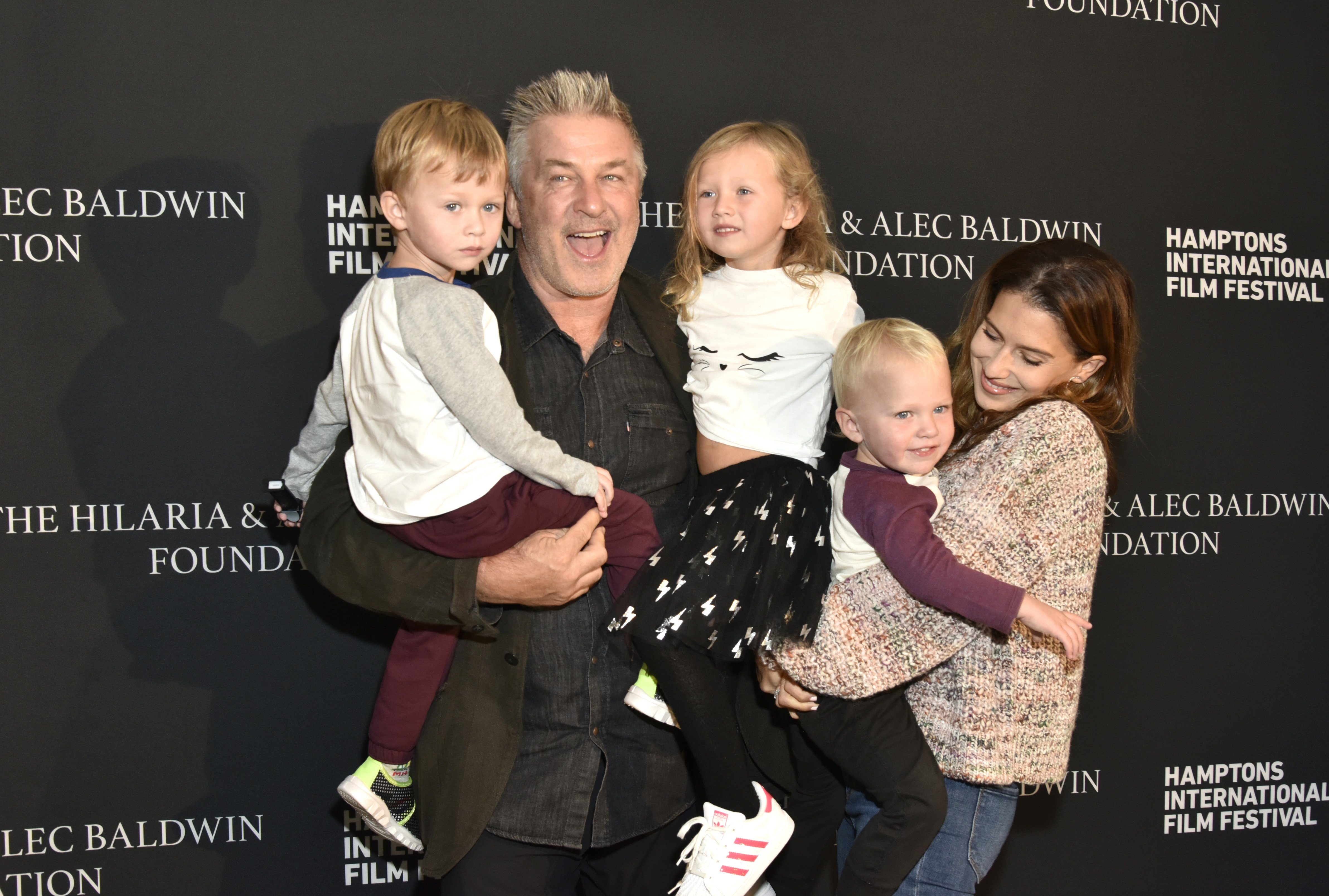 Image Source: Getty Images/Alec and his family