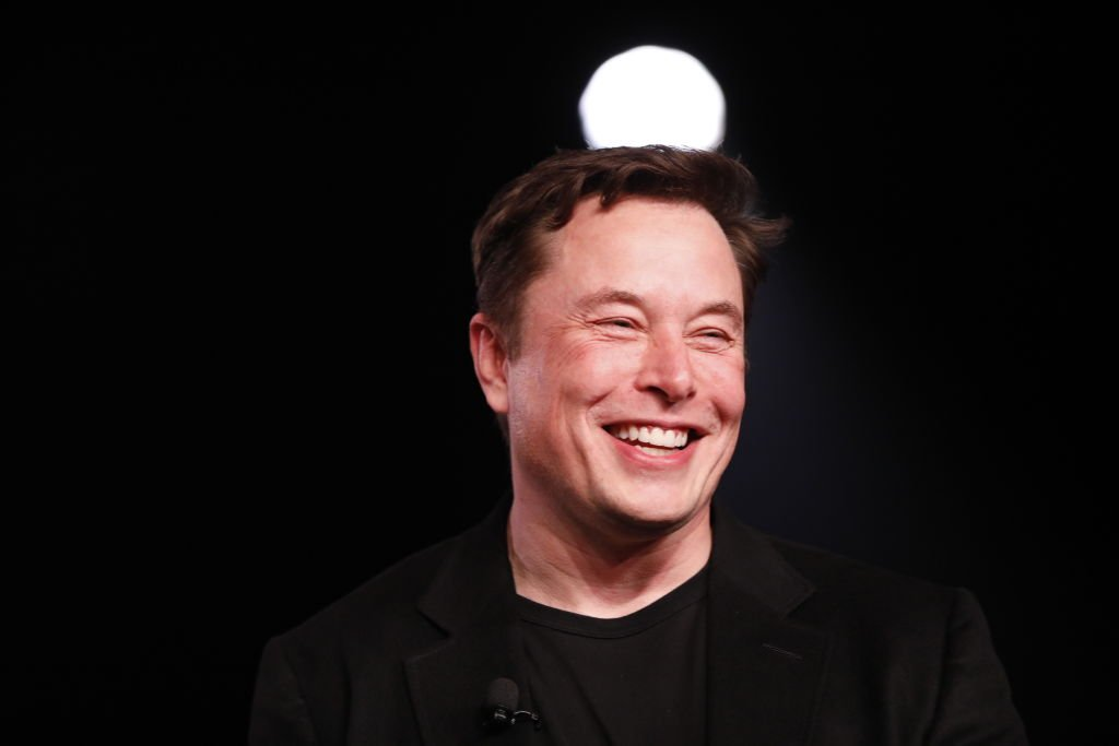 Image Credit: Getty Images / Elon Musk, co-founder and chief executive officer of Tesla Inc during an unveiling event in Hawthorne, California, U.S., on Friday, March 15, 2019.