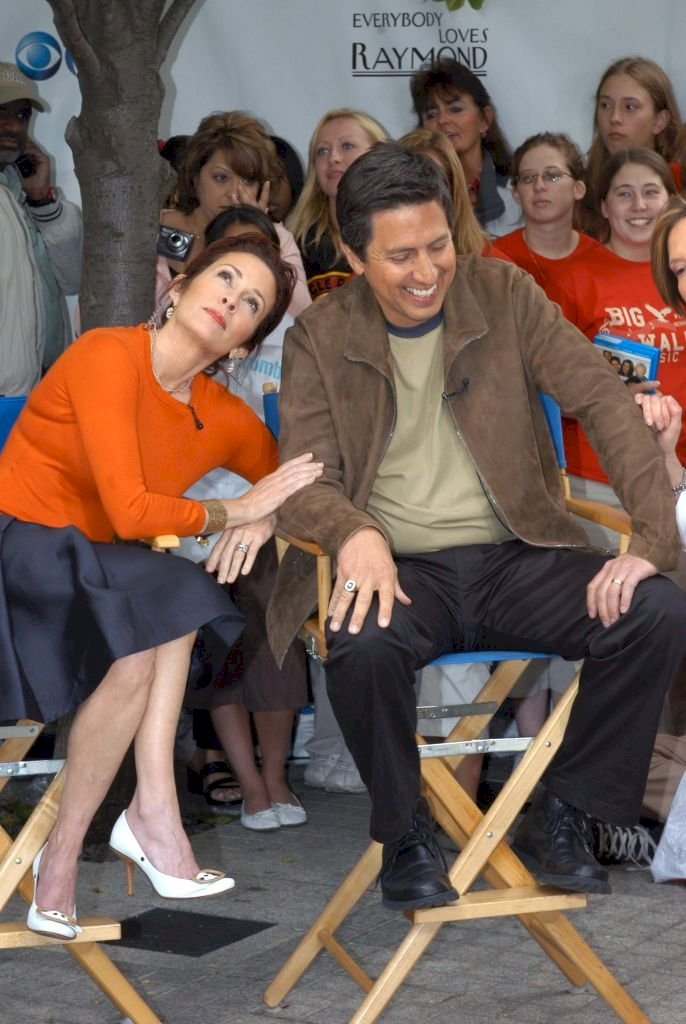 """Image Credits: Getty Images / Patricia Heaton and Ray Romano from """"Everybody Loves Raymond"""""""