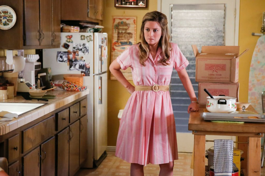 Image Credit: Getty Images / Mary Cooper for Young Sheldon, starring actress Zoe Perry.