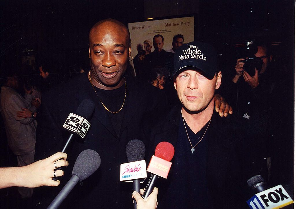 Image Credit: Getty Images / Michael Clarke Duncan & Bruce Willis during The Whole Nine Yards Premiere.