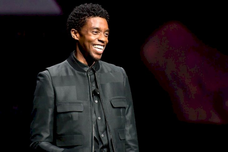 Image Credits: Getty Images / Chadwick Boseman speaks onstage at CinemaCon 2019