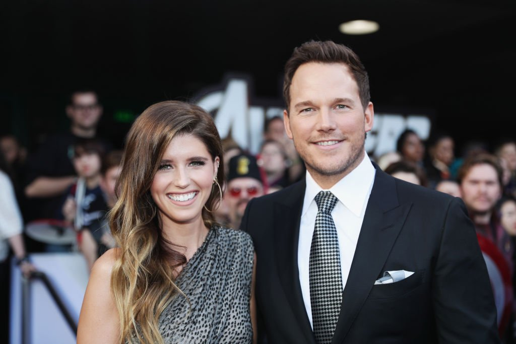 "Image Credits: Getty Images / Rich Polk | (L-R) Katherine Schwarzenegger and Chris Pratt attend the Los Angeles World Premiere of Marvel Studios' ""Avengers: Endgame"" at the Los Angeles Convention Center on April 23, 2019 in Los Angeles, California."