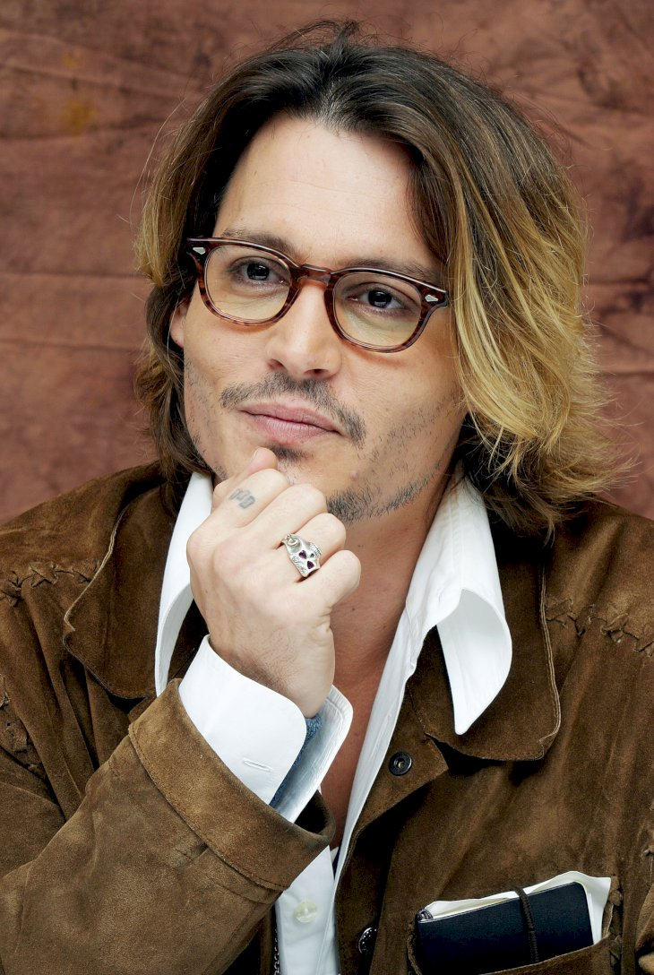 Image Credit: Getty Images / Johnny Depp at an event.