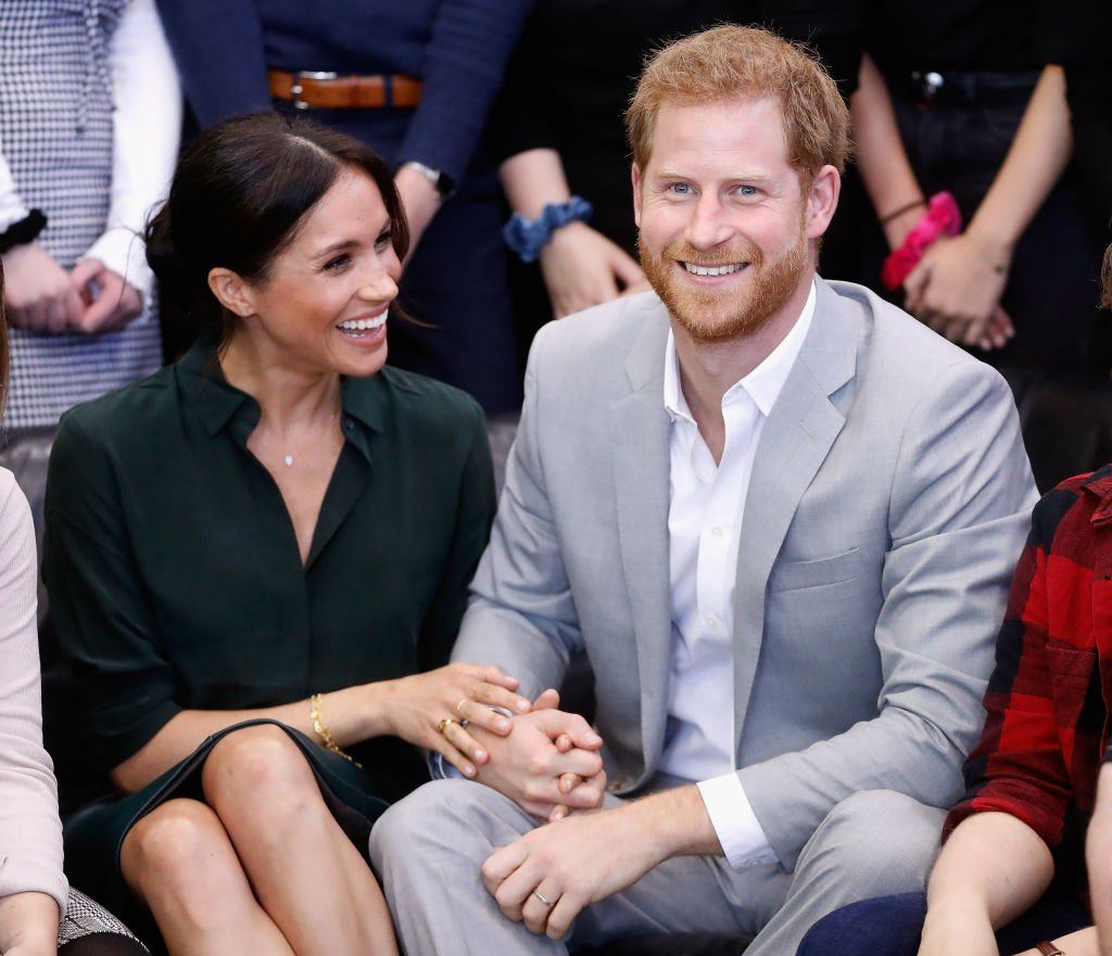 Image Credits: Getty Images / Chris Jackson | Meghan, Duchess of Sussex and Prince Harry, Duke of Sussex make an official visit to the Joff Youth Centre in Peacehaven, Sussex on October 3, 2018.