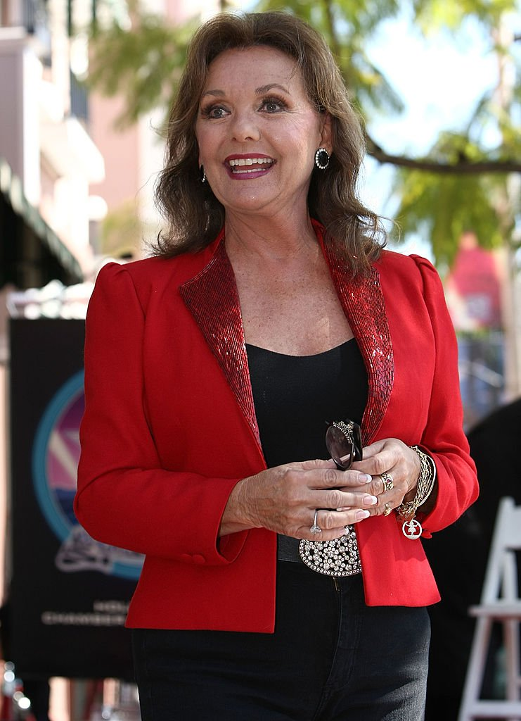 Image Source: Getty Images/Alberto E. Rodriguez/Actress Dawn Wells attends a ceremony honoring producer Sherwood Schwartz with a star at the Hollywood Walk of Fame on March 7, 2008 in Hollywood, California