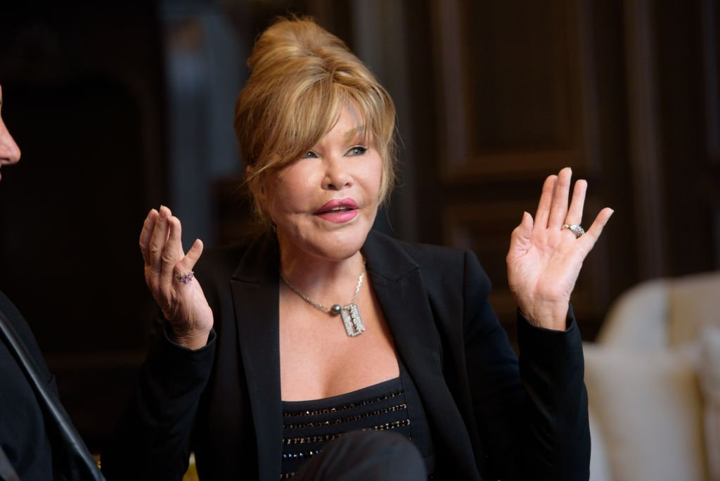 Image Credit: Getty Images / Jocelyn Wildenstein discusses her new engagement to Lloyd Klein at Baccarat Hotel on August 5, 2017 in New York City.